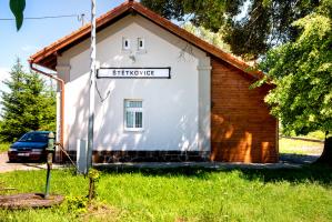 Nádražní budova v Štětkovicích