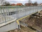 Kompozitní lávka pro pěší a cyklisty ve Vodňanech