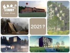 Stavby s vůní dřeva 2021: Hlasujte pro dřevostavby, které navrhli studenti