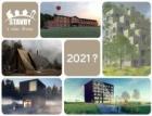Hlasujte pro stavby ze dřeva, které navrhli studenti