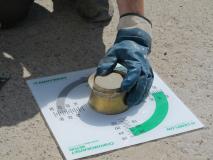 4. Kontrola kvality litého potěru CEMFLOW na stavbě