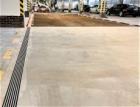Nízké žlaby PG v podzemních garážích Úřadu vlády