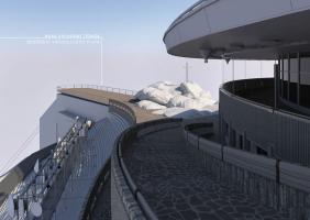 Nová východní terasa