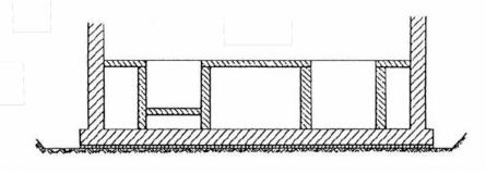 Obr. 3: Vhodný tvar základové spáry