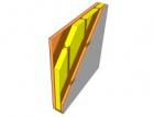 Vzduchová neprůzvučnost stěn s dřevěnými prvky