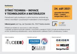 Stínicí technika - inovace v technologiích a materiálech