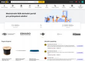 Online platforma merXu pro B2B obchodování