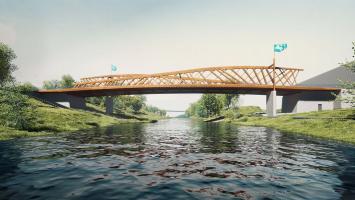 Mezi architektonické dominanty Ostravy bude patřit nový most