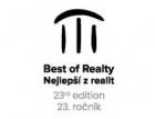 O titul Best of Realty - Nejlepší z realit 2021 usiluje téměř 50 projektů