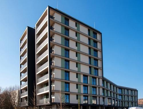 Obr. 9: Bytový dům Auto Jarov, Praha 3