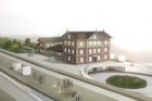 Návrh rekonstrukce nádražní budovy vÚstí nad Orlicí