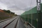 Dokončena první část železničního koridoru uTábora