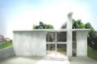 Hrubá stavba neobvyklého kostela vLitomyšli bude vpolovině roku