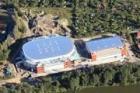 Nová aréna vK.Varech bude dokončena do poloviny června