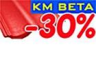 Podzimní slevy na střešní krytinu KM Beta 30 procent