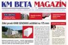Společnost KM Beta začala vydávat vlastní zpravodaj