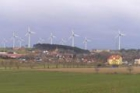 V Horním Částkově začali stavět dvě větrné elektrárny