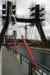 Nový zavěšený most vKarlových Varech