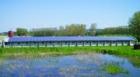 Montáž solární elektrárny v Opatově trvala zhruba dva týdny