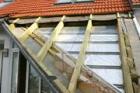 Materiály DELTA® pro sanaci šikmé střechy zvnější strany