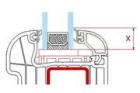 Distanční rámečky – prvky ovlivňující vnitřní povrchovou teplotu voblasti zasklívací spáry okenní konstrukce