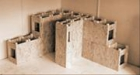 Ekonomický konštrukčný systém pre nízkoenergetické drevostavby