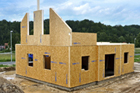 Stavební systém z konstrukčních izolovaných panelů (SIPs)