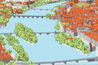 Výstava Digitální mapy Prahy