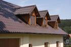 Lehká krytina Lindab Topline pro starobylý dům