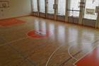Kährs Activity Floor v tělocvičně ZŠ Plamínkové