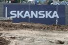 Zisk koncernu Skanska ve čtvrtletí klesl o víc než polovinu