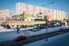 Pestrá mozaika barev oživila pražské Jižní Město – Poliklinika Opatovská byla oceněna v soutěži Fasáda roku