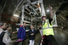 Tisíce návštěvníků si prohlédlo prodloužení trasy pražského metra V.A