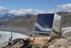 Monte-Rosa-Hütte – horská chata s provozem řízeným automaticky podle počasí