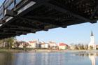 Povodí Vltavy buduje ve Strakonicích protipovodňová opatření