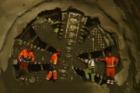 Razicí štít Tonda se proboural do budoucí stanice metra Petřiny