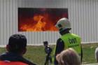 ČVUT chystá požární zkoušku dvoupodlažní budovy