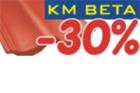 KM BETA vyhlásila mimořádnou slevovou akci na střešní krytinu!