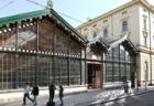 Rekonstrukce střešního pláště Masarykova nádraží s použitím falcovaných šindelů PREFA
