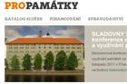Nový portál PROPAMÁTKY – informace o obnově památek na jednom místě