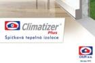 Nový prospekt k izolaci CLIMATIZER PLUS