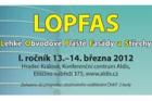 Výzva k přihlášení příspěvků na novou konferenci LOPFAS