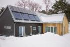 Inspirace pro české stavebnictví: LINDAB Rainline, Seamline, Safety součástí zelených domů ve Švédsku