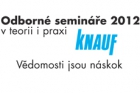 Odborné semináře Knauf 2012