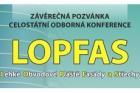 Závěrečná pozvánka na konferenci Lehké Obvodové Pláště Fasády a Střechy – LOPFAS