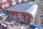 V Chodově se dokončuje sportovní hala