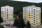 Střecha Lindab jako koruna rekonstrukcí panelových domů v Brně-Bystrci