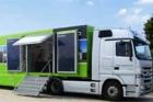 Schüco Demotruck vyjíždí na roadshow zaměřenou na solární systémy