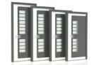 Nové vysoce tepelněizolační designové hliníkové dveře Internorm