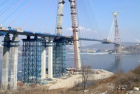 Ve Vladivostoku propojili největší lanový most na světě